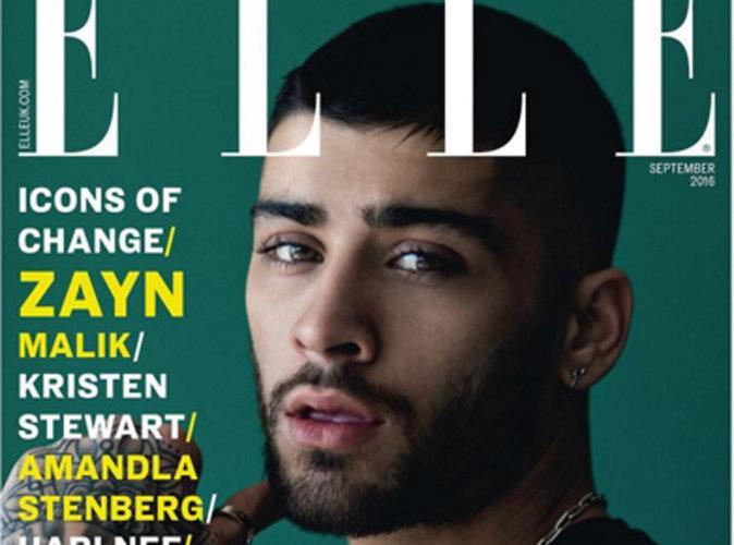 Zayn Malik : Sexy et grunge en couverture du ELLE UK !