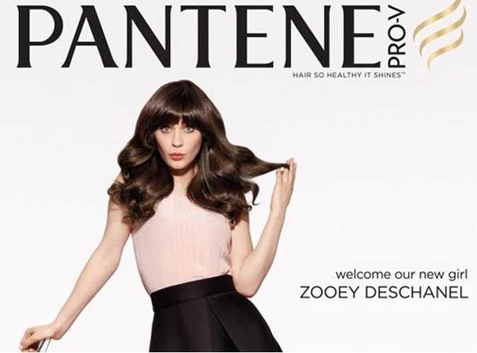 Zooey Deschanel : toujours ravissante pour la nouvelle campagne Pantene !