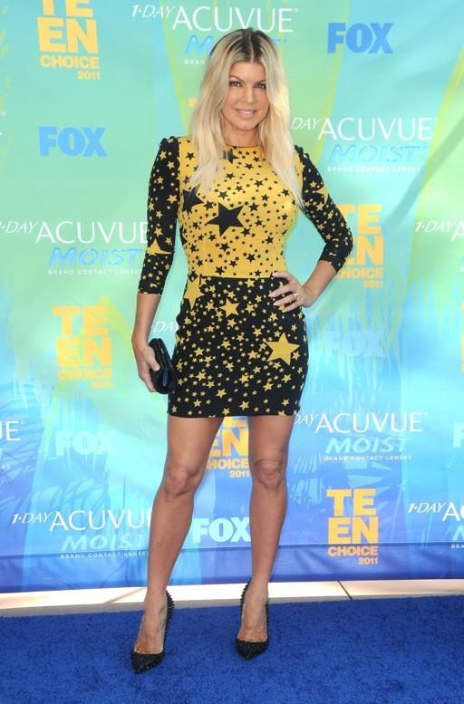 Fergie en Dolce & Gabbana