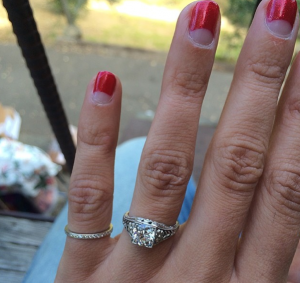 Aly engaged