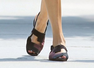Chaussures d'Alexa Chung