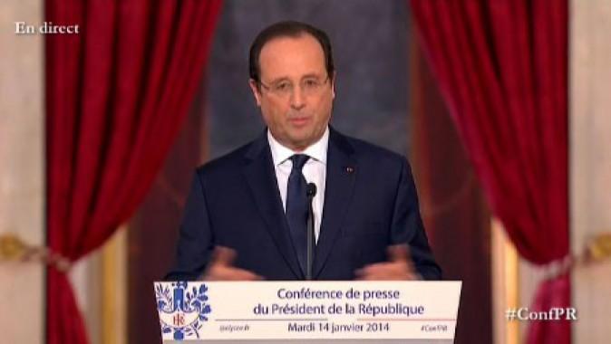 Conférence de presse François Hollande