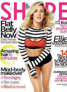 Ellie Goulding Shape Magazine