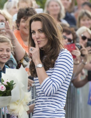 Kate Middleton montre Cartier