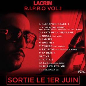 Lacrim album tracklist