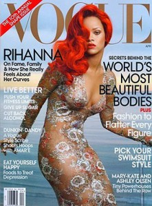 Rihanna Vogue Avril 2011