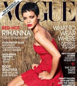 Rihanna Vogue novembre 2012