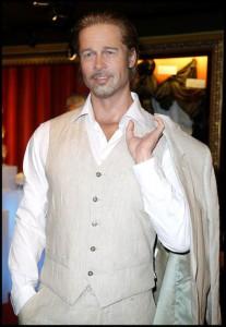 statue Brad Pitt au musée Grévin