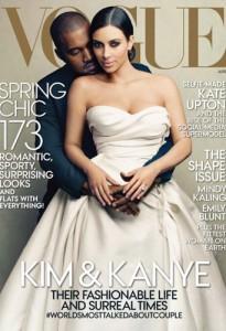 Une Vogue Kim Kardashian