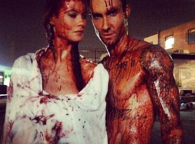 Adam Levine et Behati Prinsloo : le nouveau clip des Maroon 5 s'annonce sanglant !