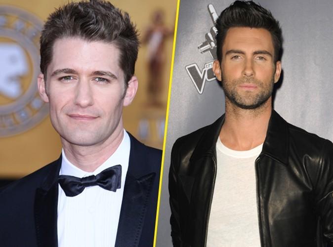 Adam Levine : il lance son label et signe avec Matthew Morrison de Glee dans la foulée !