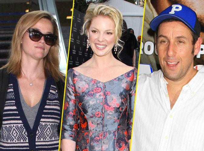 Adam Sandler, Katherine Heigl, Reese Witherspoon : qui sont les stars les moins rentables de 2013 ?