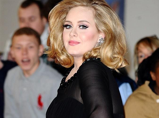 Adele, heureuse maman !
