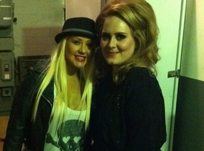 Adele : ses plus grandes fans ? Lindsay Lohan et Christina Aguilera !