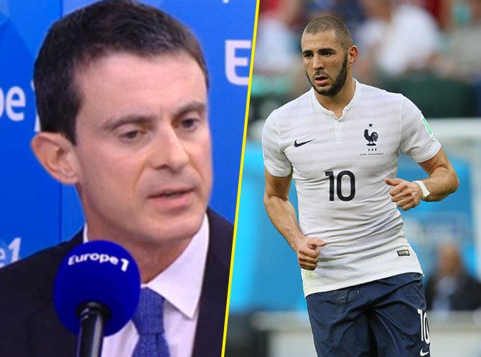 Affaire du chantage à la sextape: Manuel Valls tacle Karim Benzema