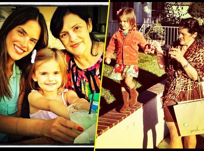 Alessandra Ambrosio : elle fête l'anniversaire de sa petite Anja avec sa mère !