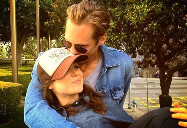 Alexander Skarsgard : complètement in love d'Ellen Page !