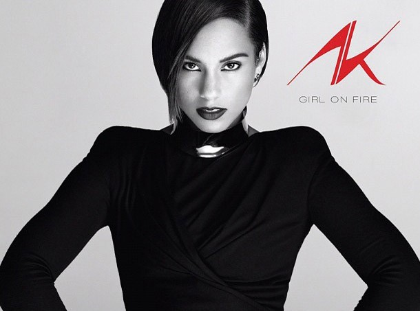 Alicia Keys : découvrez la pochette de son nouvel album Girl on Fire !