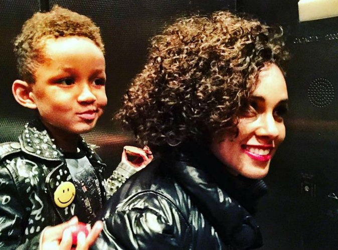 Alicia Keys : moment de tendresse avec son fils