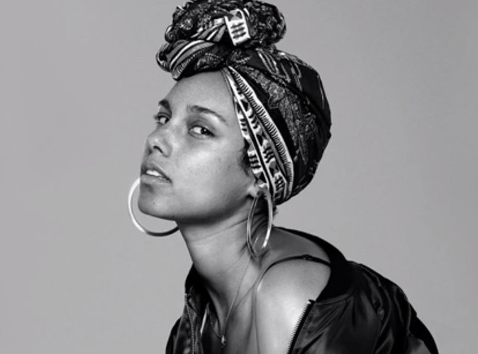 Alicia Keys : Sublime au naturel dans un nouveau photoshoot