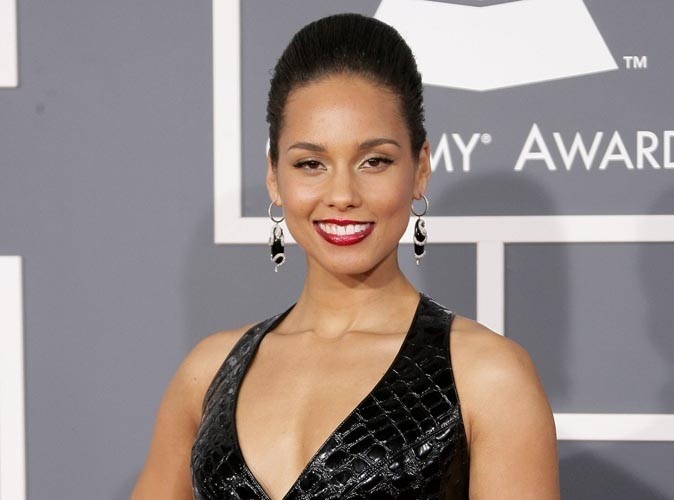 Alicia Keys : trop mignon, son fils Egypt amoureux de la petite Blue Ivy!