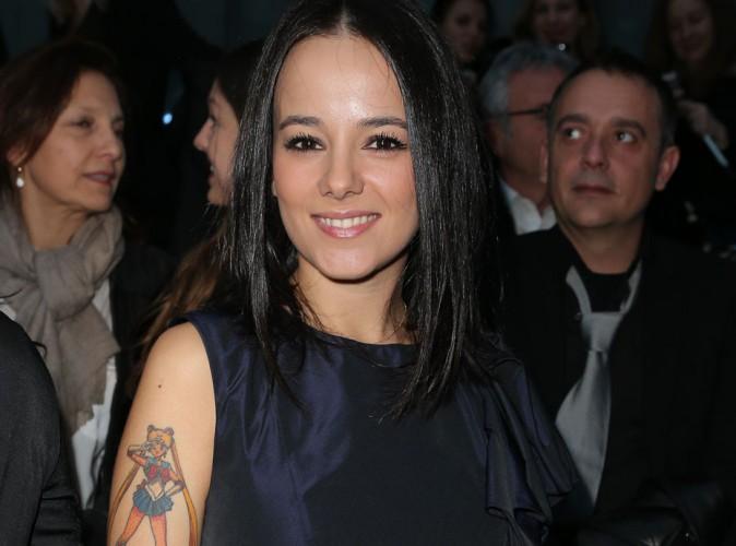 Aliz�e et son tatouage pour J�r�my Chatelain :