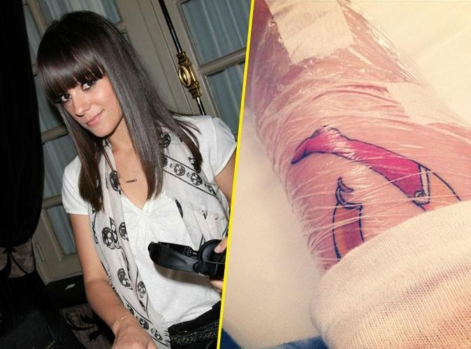 Alizée : on a percé le mystère de son nouveau tatouage !