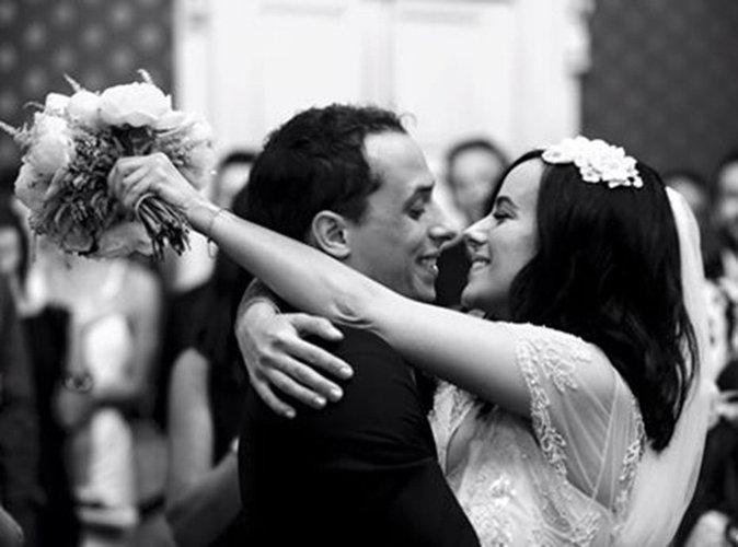 Aliz�e d�voile une nouvelle photo de son mariage