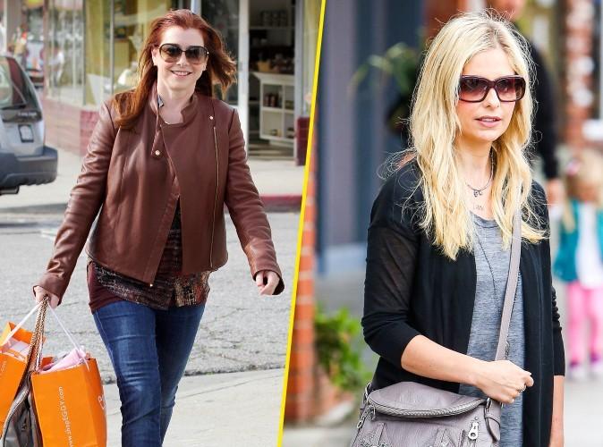 "Alyson Hannigan : ""Sarah Michelle Gellar en avait marre de jouer Buffy…"""