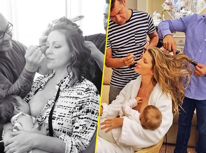 Alyssa Milano : bébé au sein, elle parodie Gisele Bündchen pour son retour !