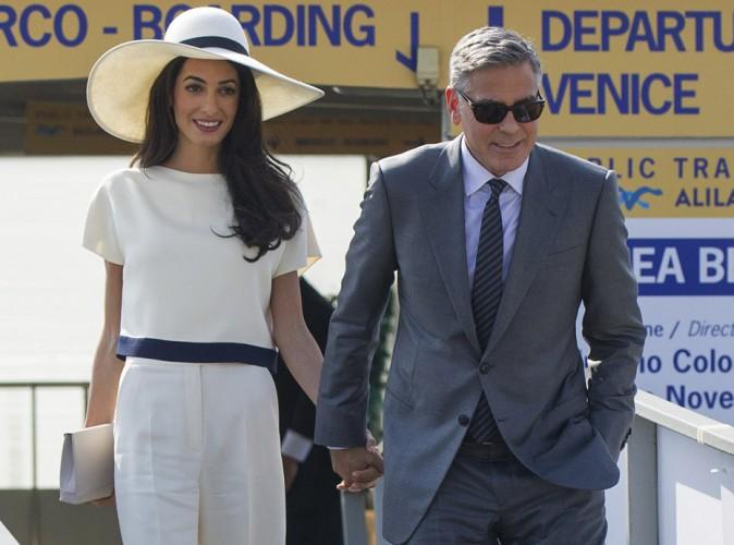 Amal et George Clooney : les festivités ne sont pas terminées pour les jeunes mariés !