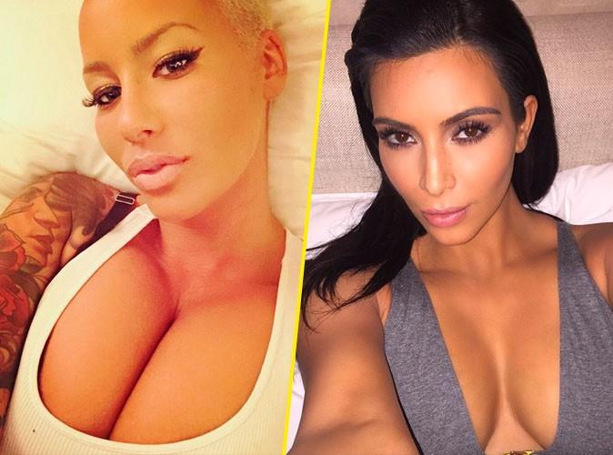Amber Rose : elle concurrence Kim Kardashian pour le titre de reine du selfie !
