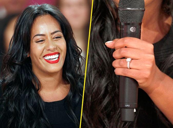 Amel Bent : la charmante chanteuse serait-elle fiancée ?