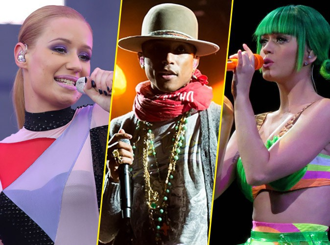 American Music Awards 2014 : Iggy Azalea, Pharrell Williams, Katy Perry... D�couvrez tous les nomm�s !