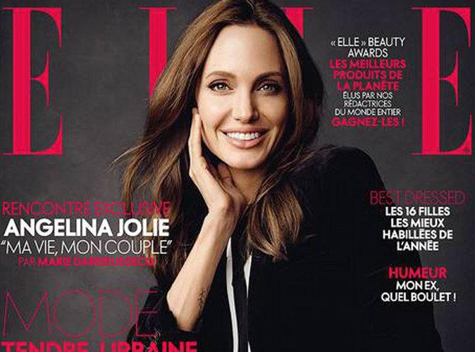 Angelina Jolie : businesswoman lumineuse en Une de ELLE !