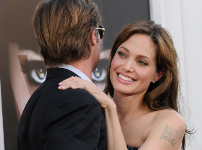 """Angelina Jolie : """"c'est drôle de tourner un drame alors qu'on est en lune de miel"""" !"""