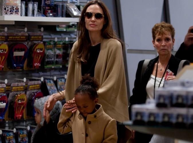 Angelina Jolie : elle offre un nouveau dressing à sa fille Zahara, pour ses 7 ans !