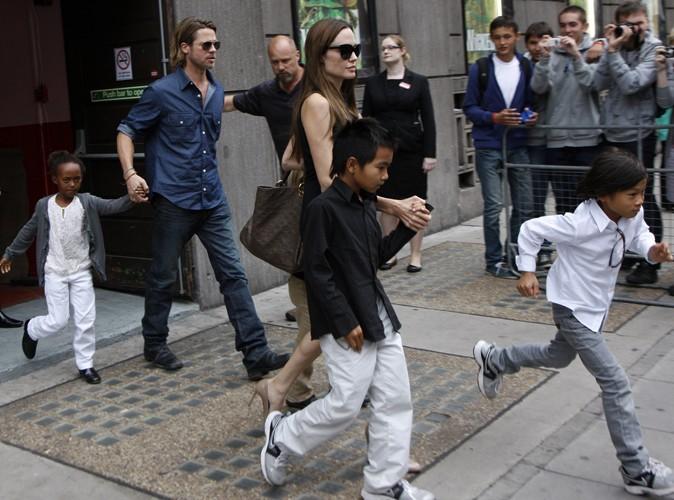 Angelina Jolie : elle va quitter l'Angleterre à cause des émeutes !