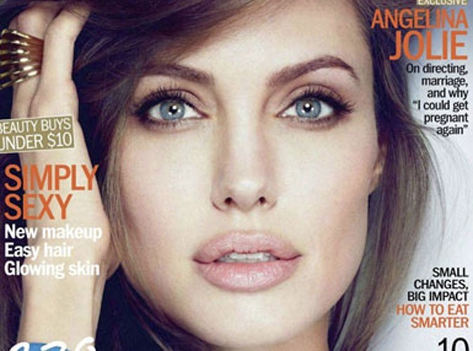 """Angelina Jolie : """"Je pourrais bien être enceinte à nouveau"""""""