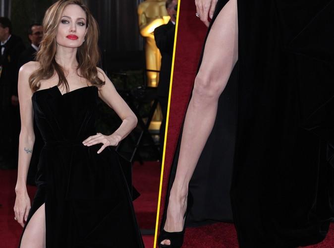Angelina Jolie : le web a pris sa fameuse jambe désarticulée pour cible !