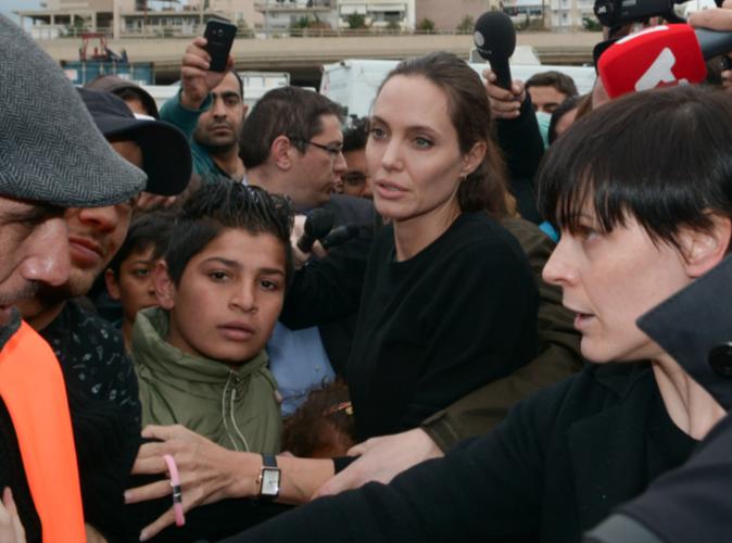 Angelina Jolie prend du galon à l'ONU