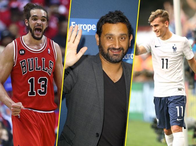 Antoine Griezmann, Joakim Noah, Cyril Hanouna : tous à fond derrière l'équipe de France de basket !