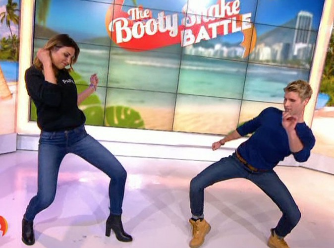 Ariane Brodier : super sexy pour une battle de booty shake avec Benoît Dubois (vidéo) !