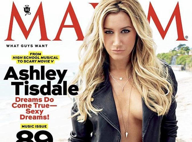 Ashley Tisdale : pour le magazine Maxim, elle se dénude !