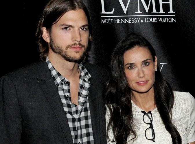 Ashton Kutcher et Demi Moore : ils s'affichent enfin ensemble!