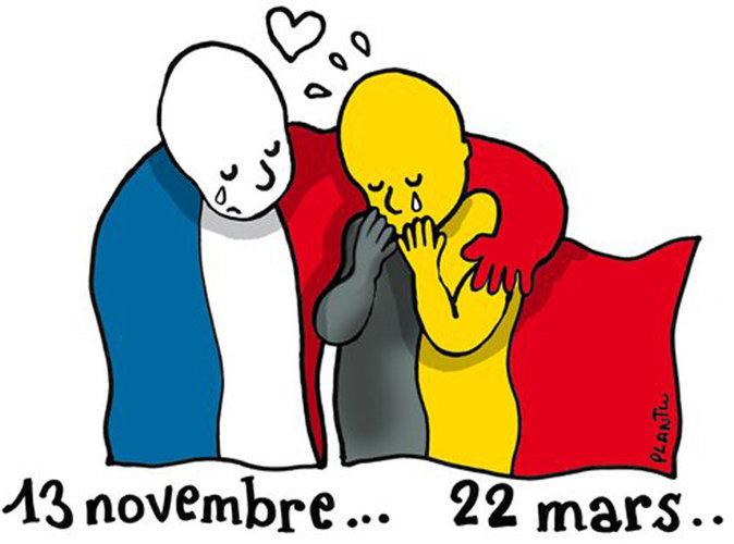 Attentats de Bruxelles : les stars sous le choc...