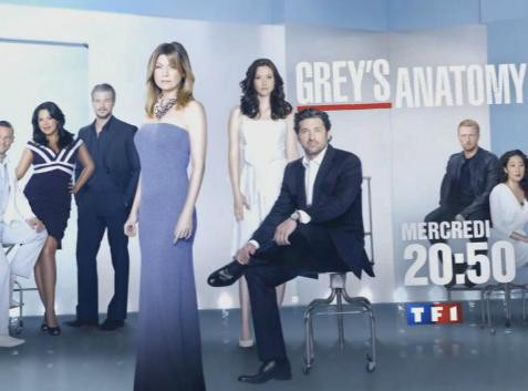 "Audiences télé : TF1 reste leader avec ""Grey's Anatomy"" !"