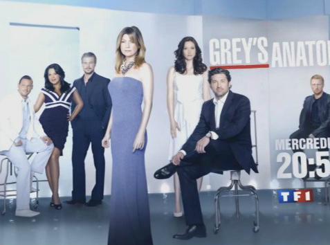 Audiences télé : TF1 (toujours) en tête avec Grey's Anatomy !