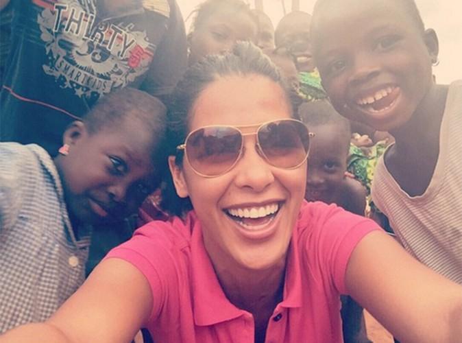 Ayem au Bénin : plus heureuse que jamais, entourée de ses petits protégés !