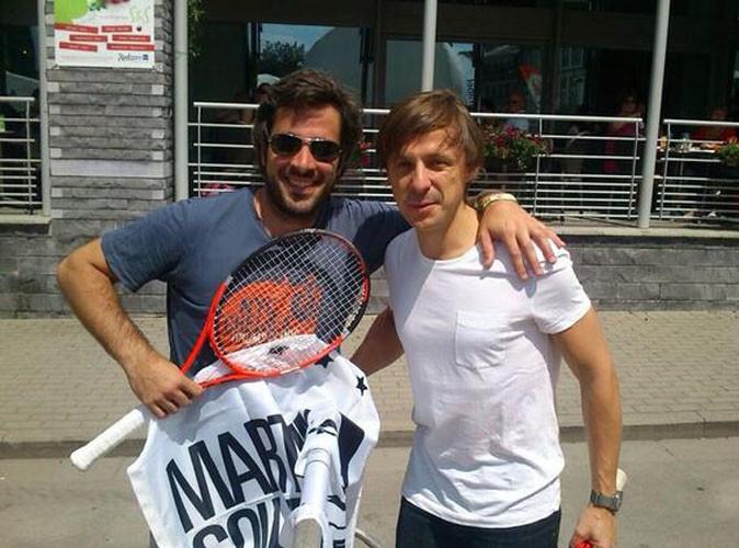 Adrien Devyver : petite partie de tennis avec Martin Solveig !